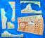 Board Game: Sails of Glory Terrain Pack: Coastal Batteries