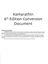 RPG Item: Kamarathin 6th Edition Conversion Document