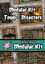 RPG Item: Heroic Maps: Modular Kit: Town - Disasters