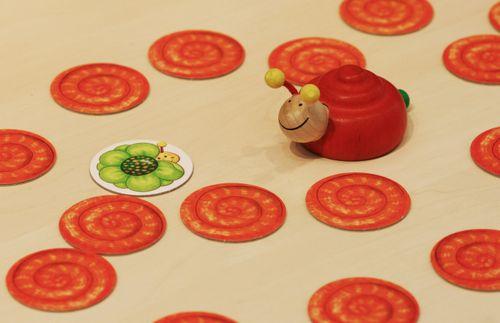 Board Game: Versteck dich, kleine Schnecke!