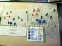 Battle boards simpler and kinder in new edition. Less and smaller blocks in old edition. Maneuver Maps; big differences.