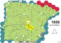 Board Game: 1858: The Railways of Iberia