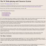 RPG Item: The NC Character System