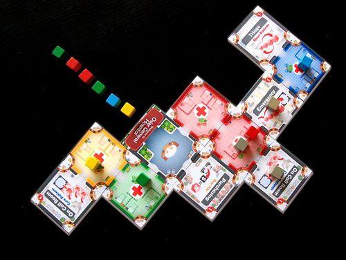 Board Game: Quarantine