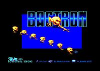 Video Game: Bactron