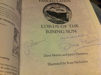 RPG Item: Book 6: Lords of the Rising Sun