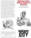 RPG Item: Vigilante Files: Galaxy Gopher's Pizzeria