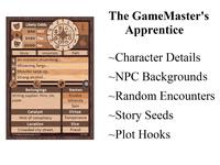 RPG Item: The GameMaster's Apprentice