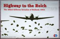 Board Game: Highway to the Reich: The Allied Airborne Invasion of Holland, 1944 (Third Edition)