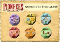 Board Game: Pioneers: Queenie 2 – The Specialists