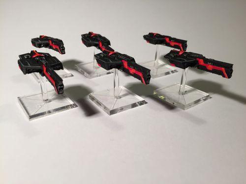 Board Game: Firestorm Taskforce Starter Set: Terran Alliance vs. Dindrenzi Federation