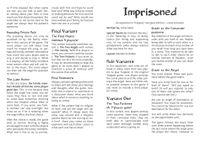 RPG Item: Imprisoned