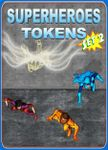 RPG Item: Superheroes Tokens Set 2
