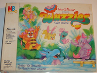 Board Game: Wuzzles Card Game
