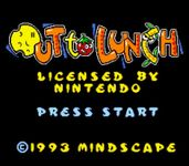 Video Game: Out to Lunch