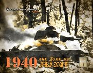 Board Game: 1940: The Fall of France – A Panzer Grenadier Game