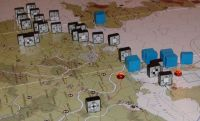 What do you think my Atlantic seawall is, the Maginot Line!?  An Allied blitz in Denmark breaks through in April '44.