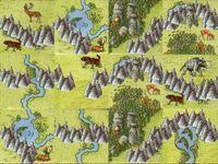 Board Game: Die Steinmauer (fan expansion for Carcassonne: Die Jäger und Sammler)