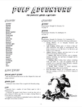 RPG Item: Pulp Adventure for Fantastic Heroes & Witchery