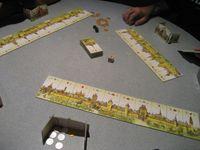 Board Game: Wettstreit der Baumeister