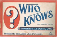 Board Game: Who Knows