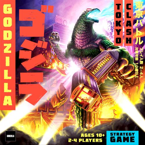 Board Game: Godzilla: Tokyo Clash