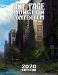 RPG Item: One Page Dungeon Compendium: 2020 Edition