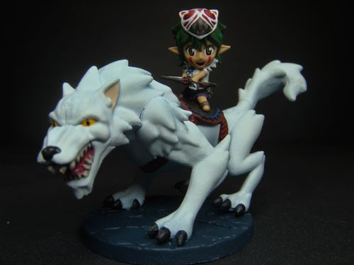 Board Game: Super Dungeon Explore: Deeproot Wolf Rider