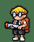 Character: Max (Mutant Mudds)