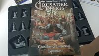 Board Game: Crusader Kings: Councilors & Inventions Expansion
