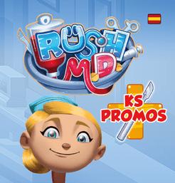 Rush M.D.: The Kickstarter promos Cover Artwork