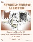RPG Item: G8: Manor of the Mountain Giant King