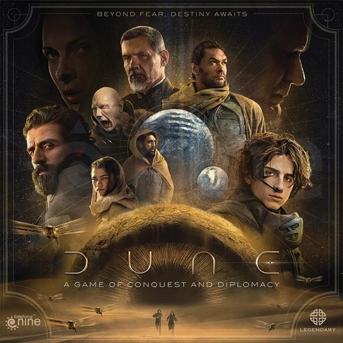 Board Game: Dune: A Game of Conquest and Diplomacy