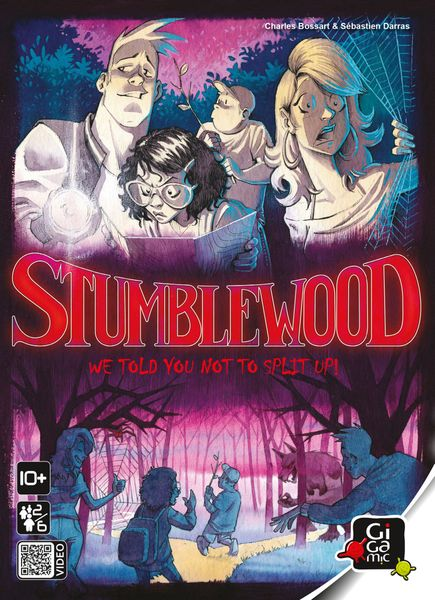 Stumblewood, Gigamic, 2018 — front cover (image provided by the publisher)