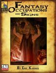 RPG Item: Fantasy Occupations & Signs