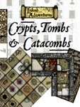 RPG Item: Inked Adventures: Crypts, Tombs & Catacombs Cut-Up Sections