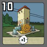 Board Game: Power Grid: Transformer Station