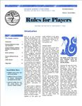 RPG Item: Rules for Players 2nd Edition