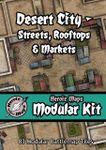 RPG Item: Heroic Maps Modular Kit: Desert City - Streets, Rooftops & Markets