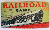 Board Game: Railroad game
