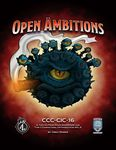 RPG Item: CCC-CIC-16: Open Ambitions