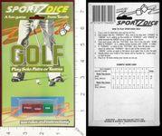 Board Game: Sportz Dice: Golf