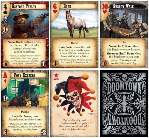 Board Game: Doomtown: Reloaded