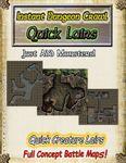 RPG Item: Instant Dungeon Crawl: Quick Lairs