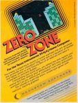 Video Game: Zero Zone (1983)