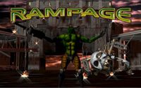 Video Game: Alien Rampage