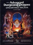 """RPG Item: """"Advanced Dungeons & Dragons (3rd Edition)"""": Unearthed Arcana (2008)"""
