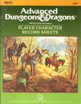 RPG Item: REF2: Player Character Record Sheets
