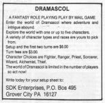RPG: Dramascol
