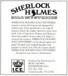 RPG: Sherlock Holmes Solo Mysteries
